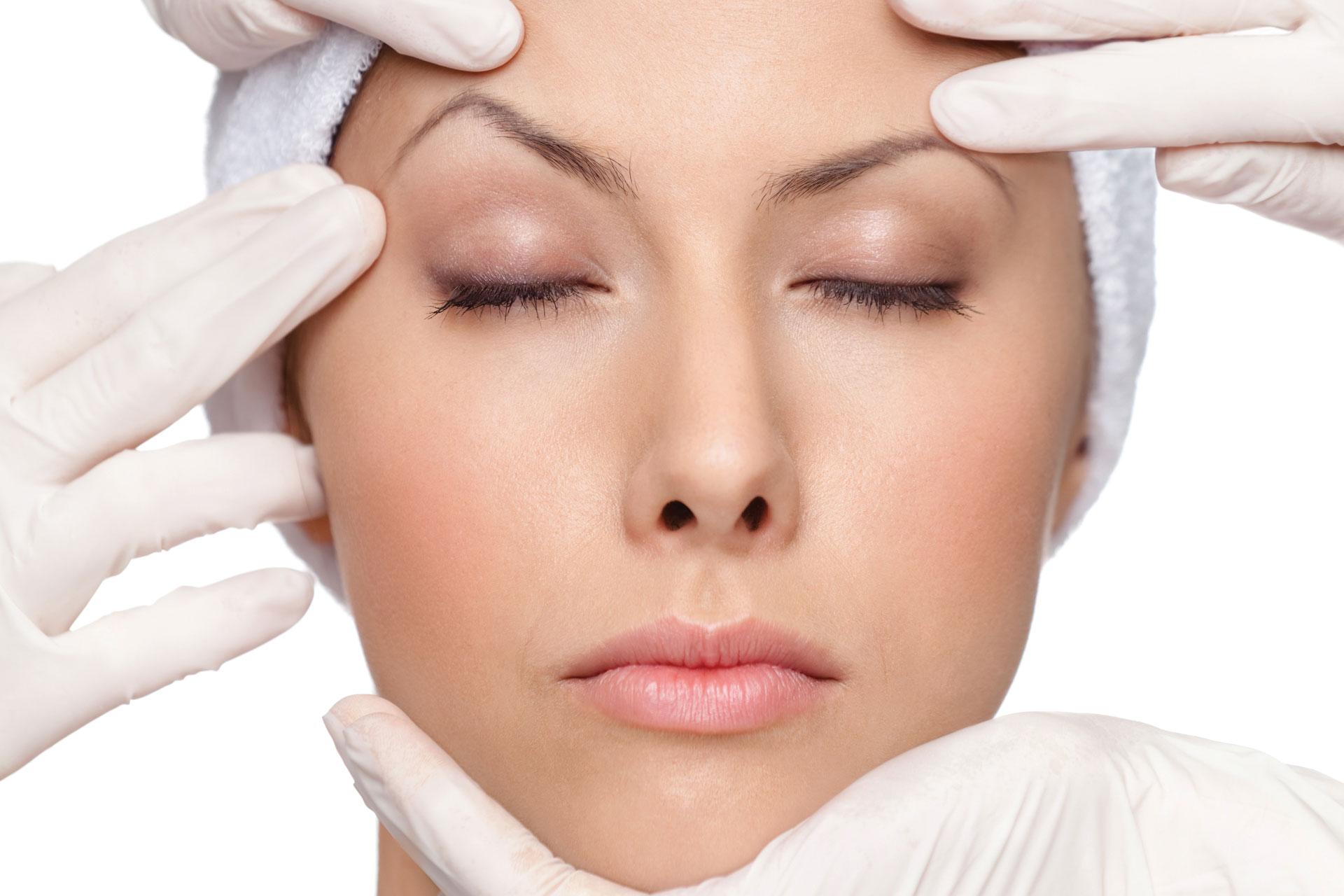 Facial skin reinforcement