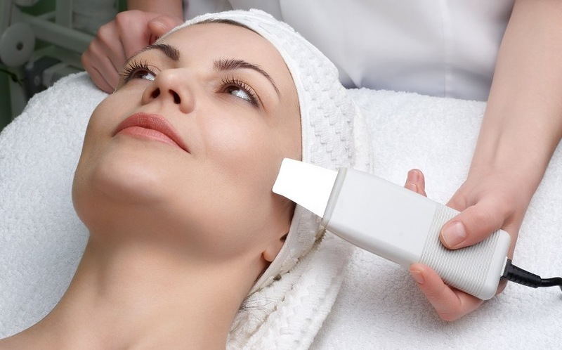 Ultrasonic Facial Cleansing